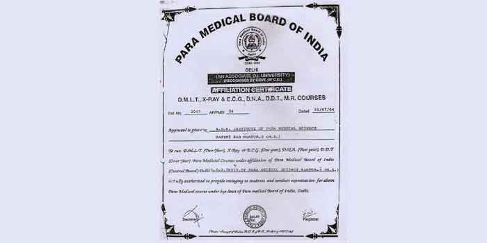 Para Medical Board Of India